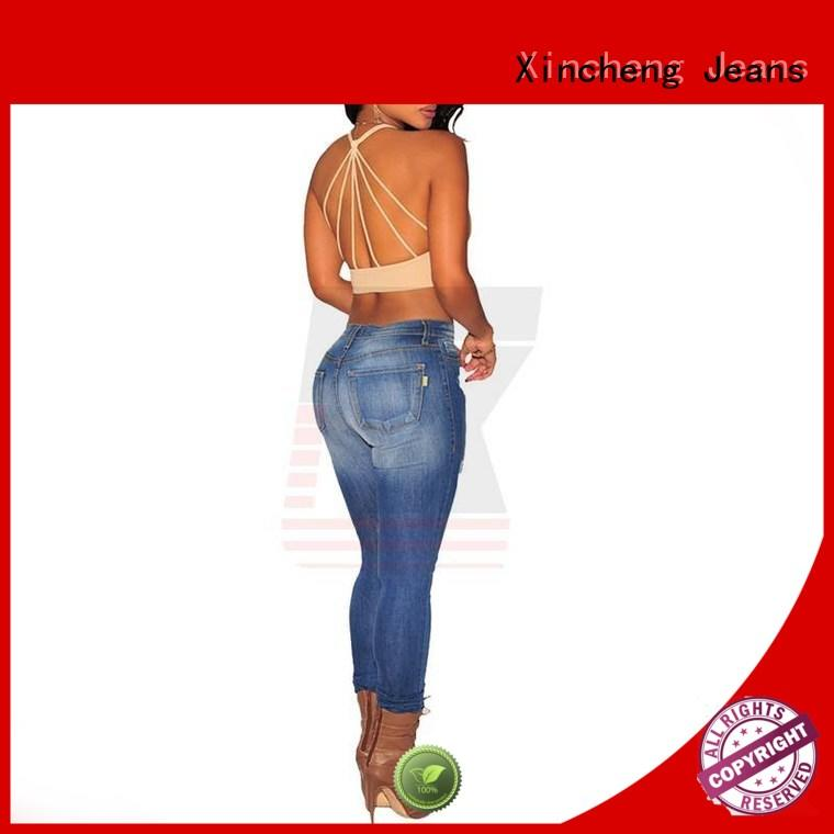 Xincheng Jeans comfortable skinny jeans for women supplier for women