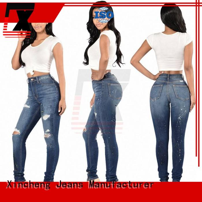 Xincheng Jeans online skinny jeans for women supplier for ladies