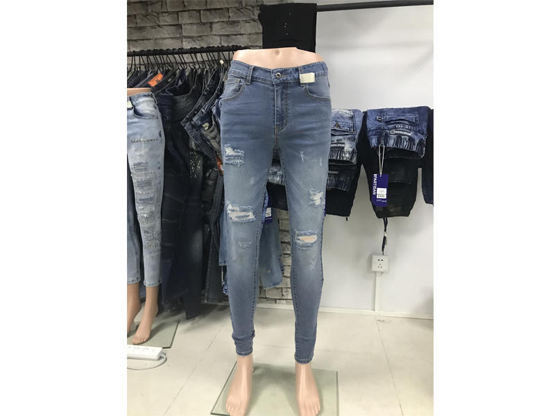 our new fit men jean's sample