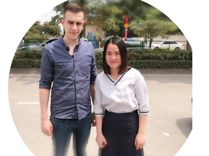 Our client from Switzerland came to visit our company from Switzerland to Guangzhou with his assistant