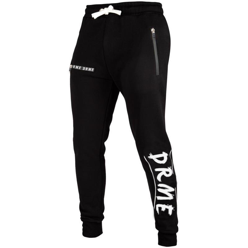 High Quality Men Sport Pants Fashion Printed Sportswear Drawstring Waist Pants Small Open Leg