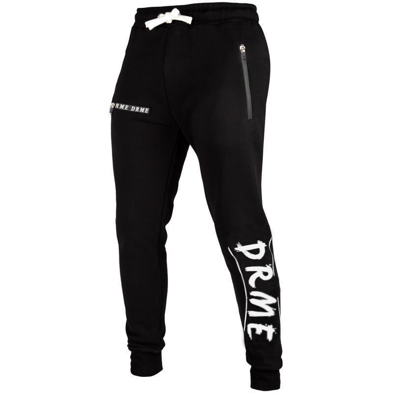 High Quality Men Sport Pants Fashion Printed Sportswear Drawstring Waist Pants Small Open Leg
