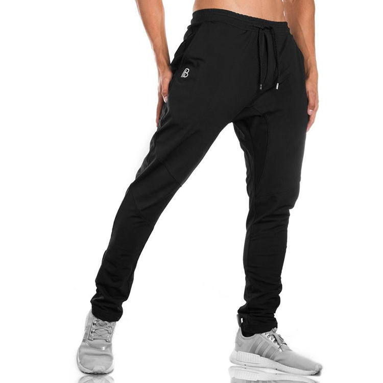 Comfortable Fashion Men Sportswear Pants Jogging Wear Pants Drawstring Waist With Deep Pockets