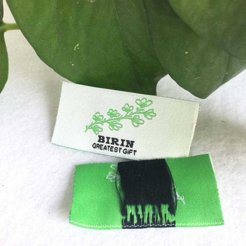 Fashion cheap Damask color Custom Garment Woven Labels For handmade items