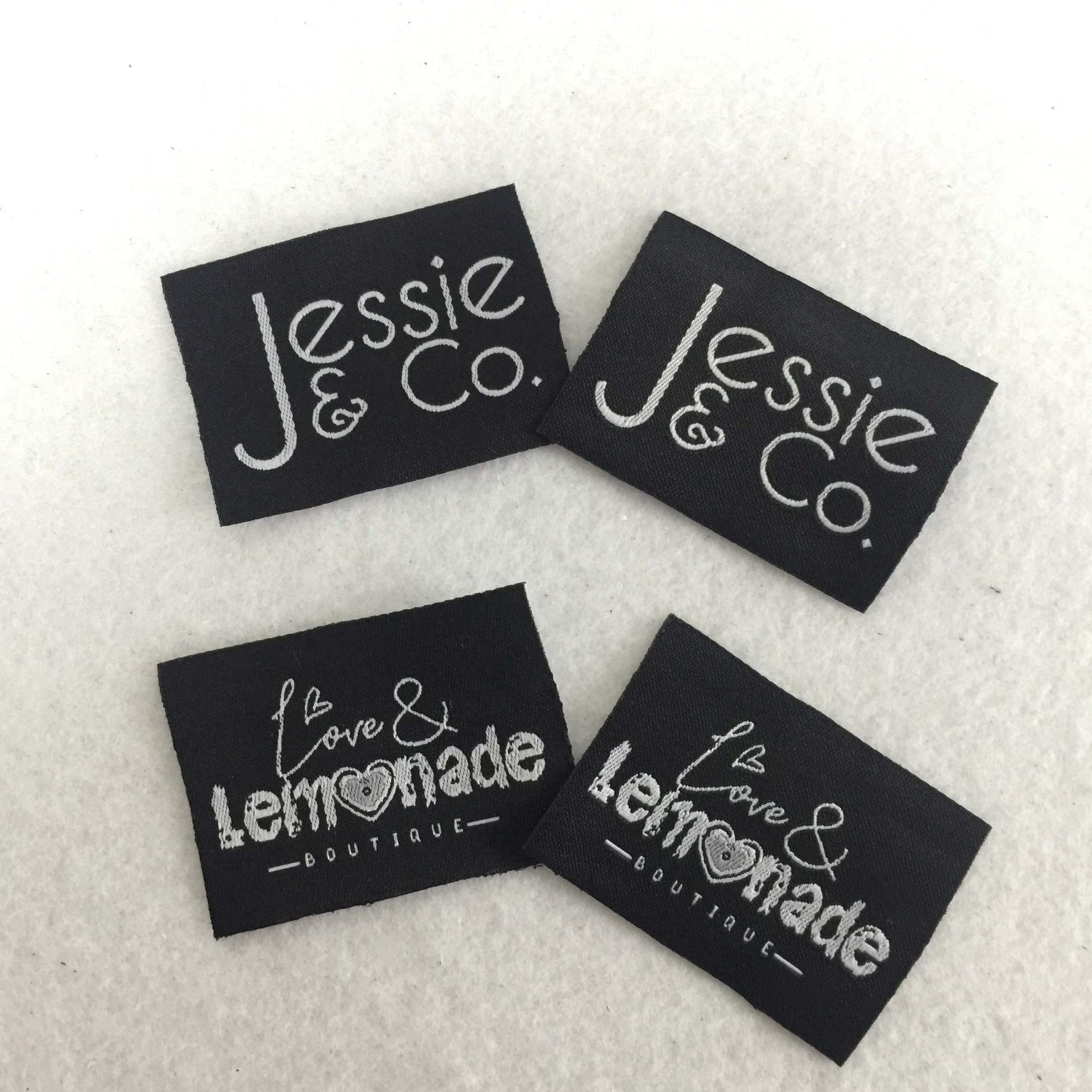 Nylon/polyester Custom garment care woven labels for clothing Home textile