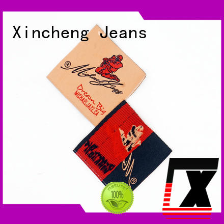Xincheng Jeans cheap custom clothing labels manufacturer for bags