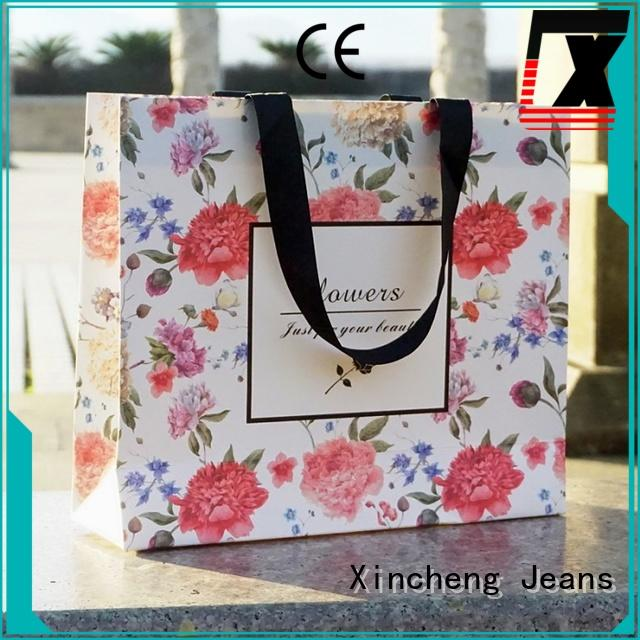 Xincheng Jeans craft with bowknot for store