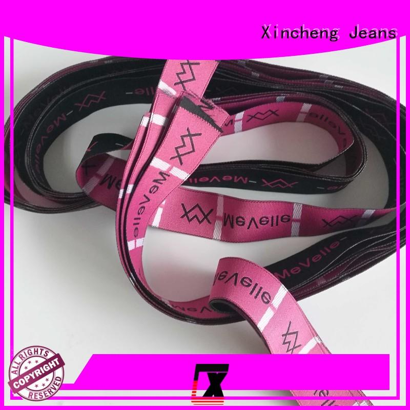 Xincheng Jeans online custom clothing labels series for clothing