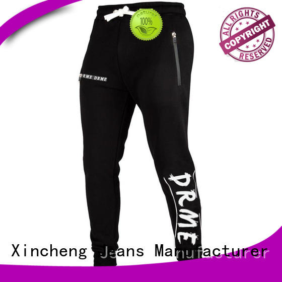 Xincheng Jeans fitness men's sports tops series for man