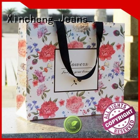 Xincheng Jeans luxury Paper shopping bag supplier for store