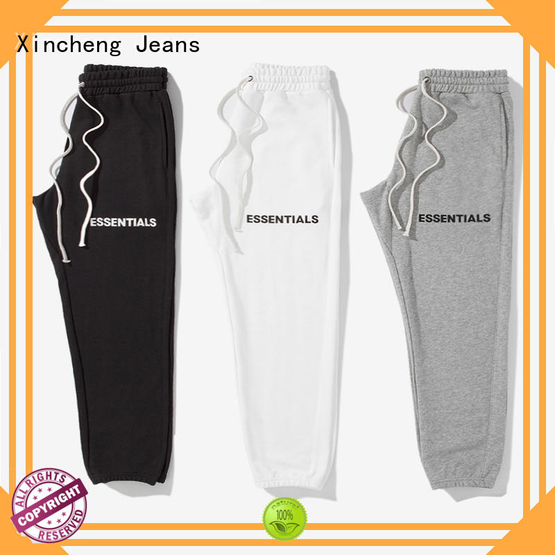 Xincheng Jeans comfortable supplier for sportman