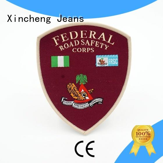 online Woven patch woven manufacturer for bags