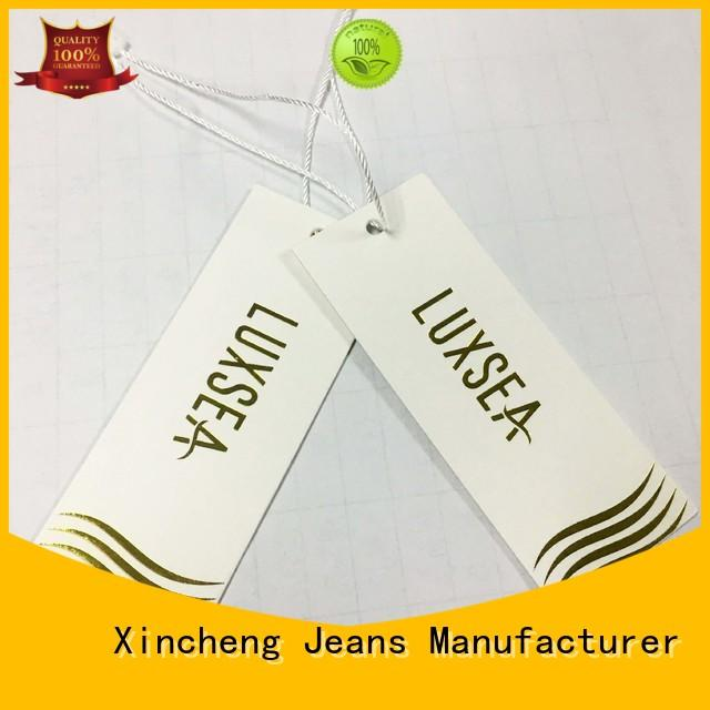 Xincheng Jeans size tag printer supplier for bags