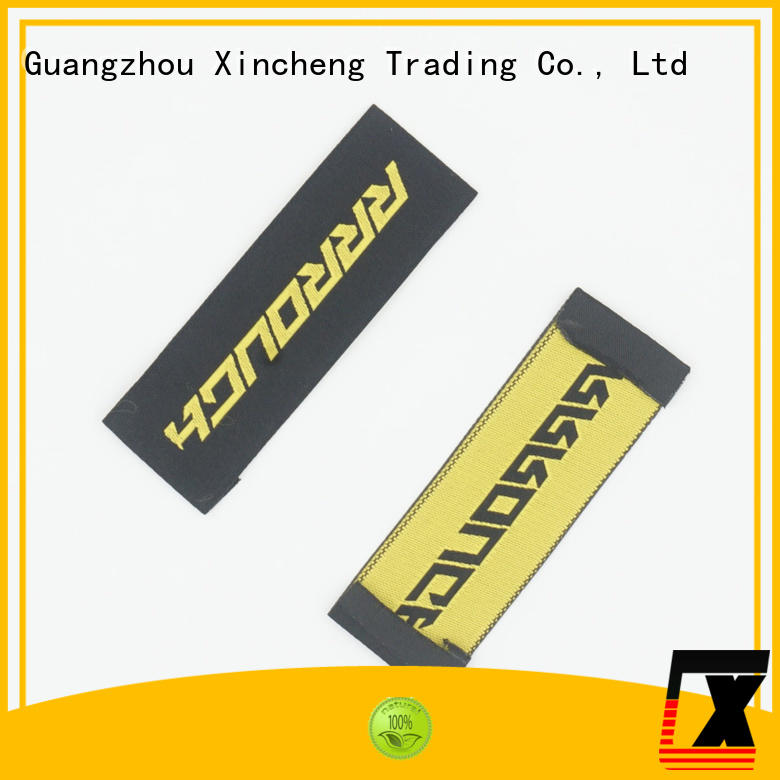 Xincheng Jeans fashion custom clothing labels series for bags